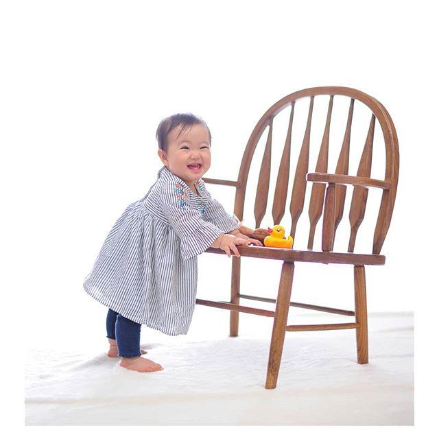 baby photo #つかまり立ち